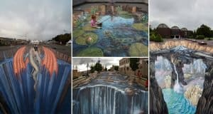 Amazing Optical Illusions Found In Spectacular Street Art