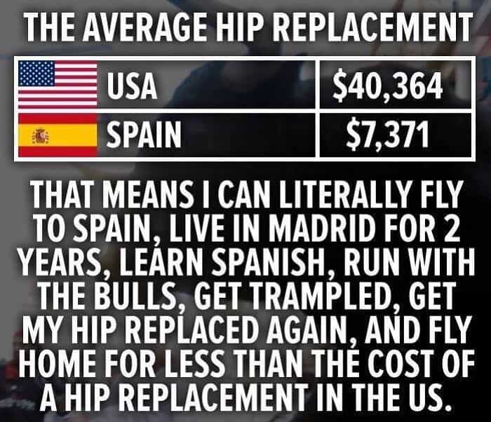 American Healthcare System Posts hip replacement