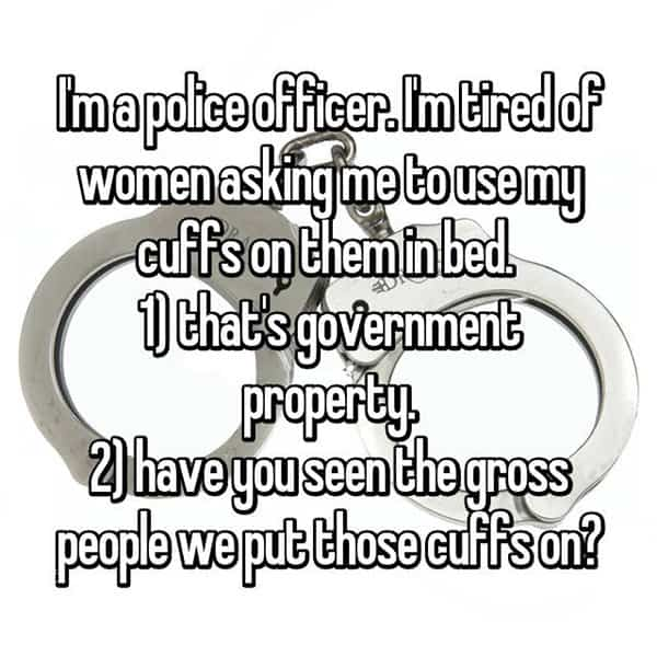 Cops Share The Dating Challenges cuffs