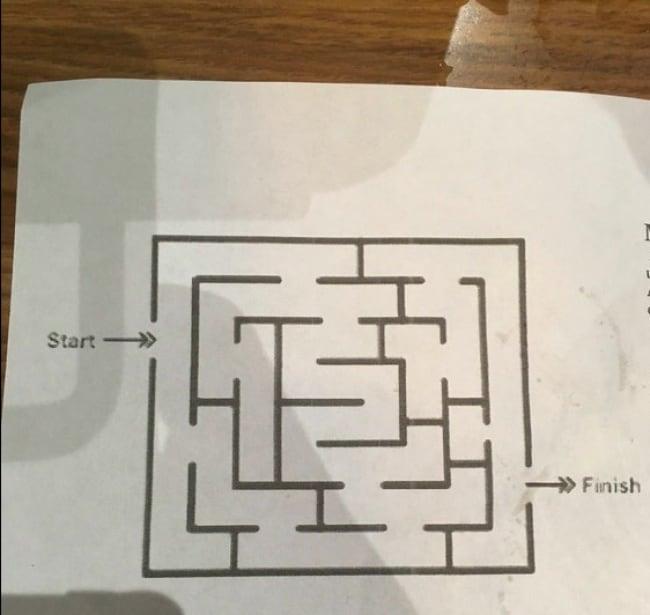 Epic Fail Design Choices maze