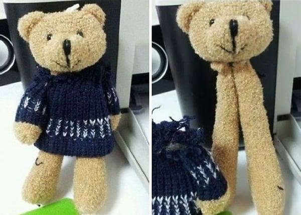 Epic Toy Design Fails teddy bear