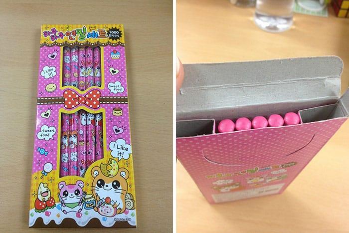Evil Packaging Designs pencils