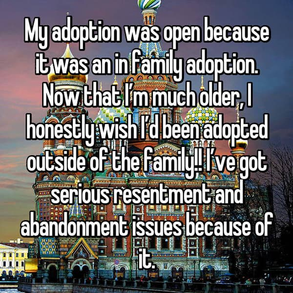 Experiences With Open Adoption outside of the family