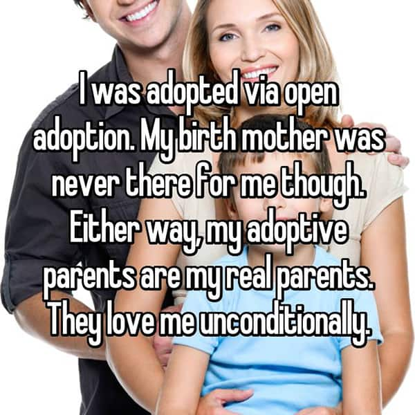 Experiences With Open Adoption real parents