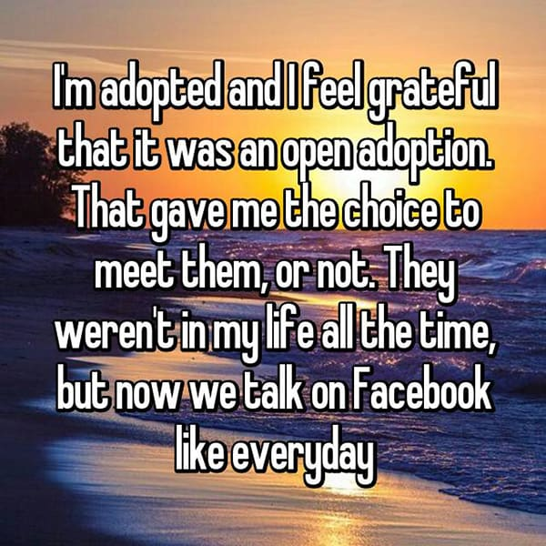 Experiences With Open Adoption they gave me the choice