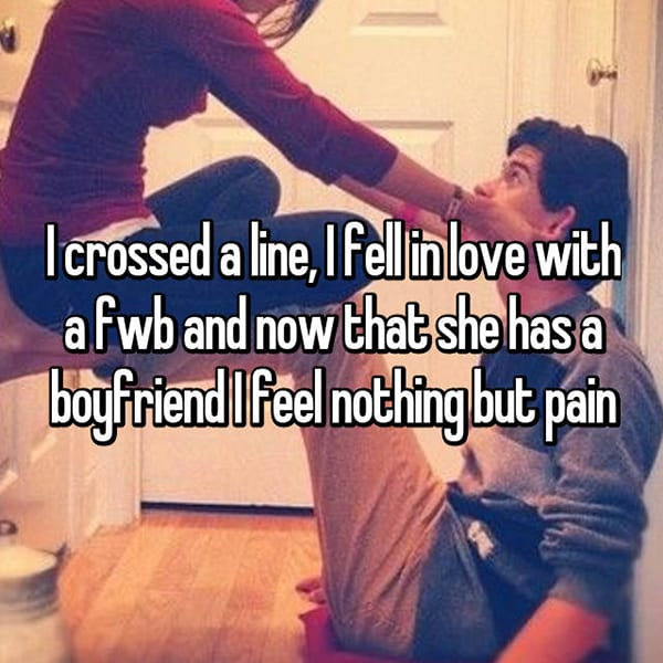 Falling For Friends With Benefits nothing but pain
