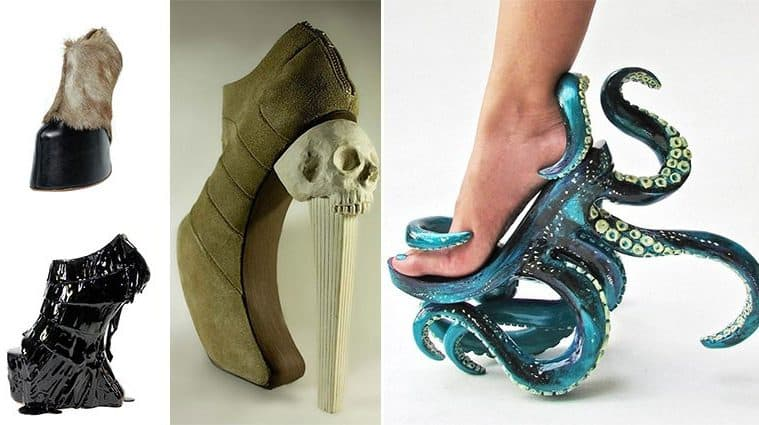 Filipino Designer Kermit Tesoro Creates The Craziest Shoes Ever