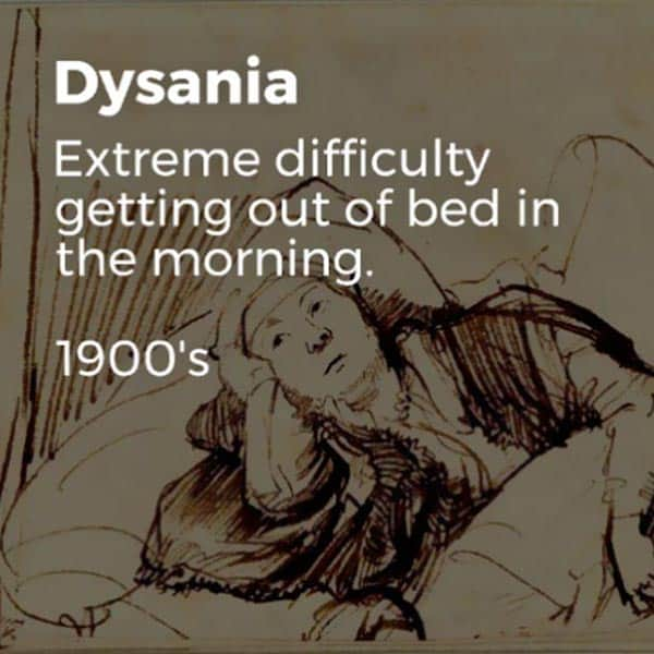 Forgotten English Words dysania