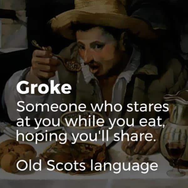 Forgotten English Words grufeling
