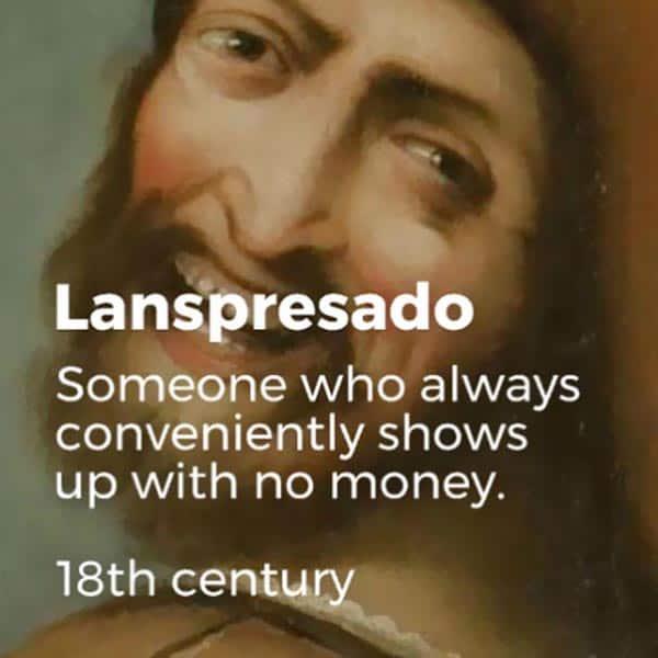 Forgotten English Words lanspresado