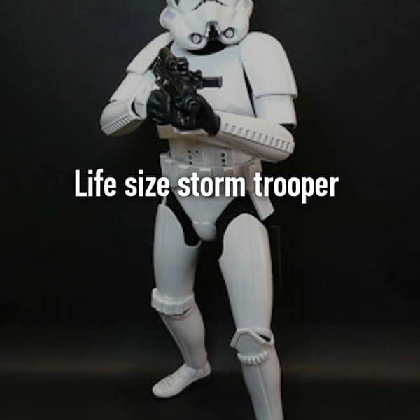 Funny Things That Drunk People Bought storm trooper