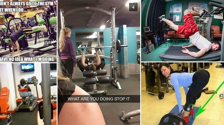 Hilarious Gym Fails That Will Have You Laughing Into Next Week
