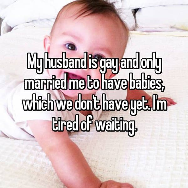 Husbands Are Secretly Gay tired of waiting
