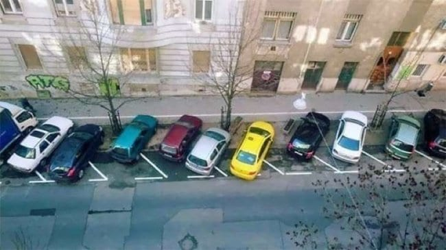 Images That Will Make You Feel Uncomfortable car parking