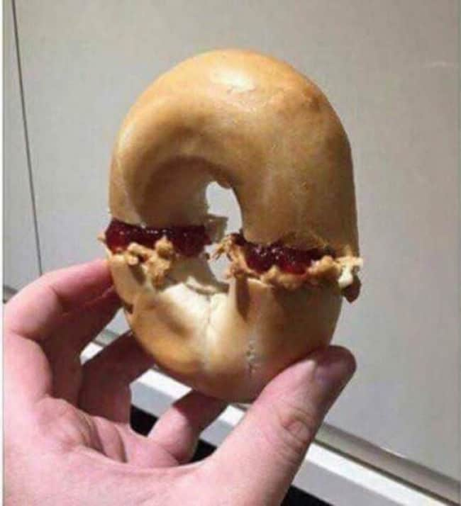 Images That Will Make You Feel Uncomfortable jelly donut