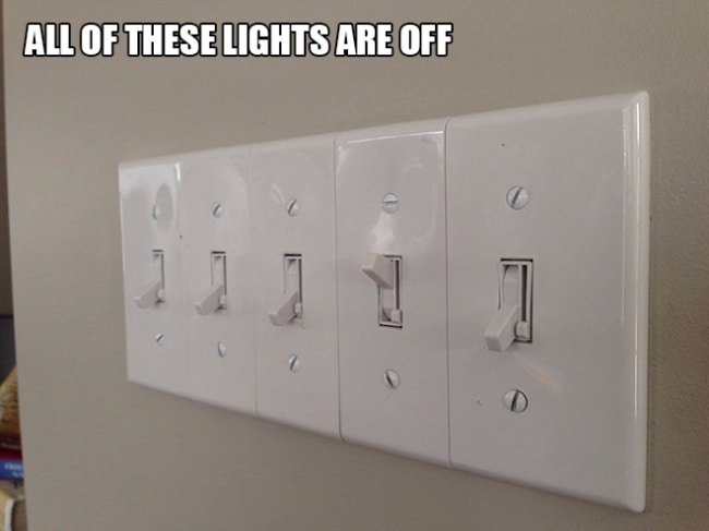 Images That Will Make You Feel Uncomfortable light switches