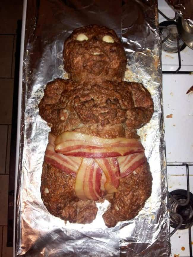 Kitchen Fails meatloaf baby