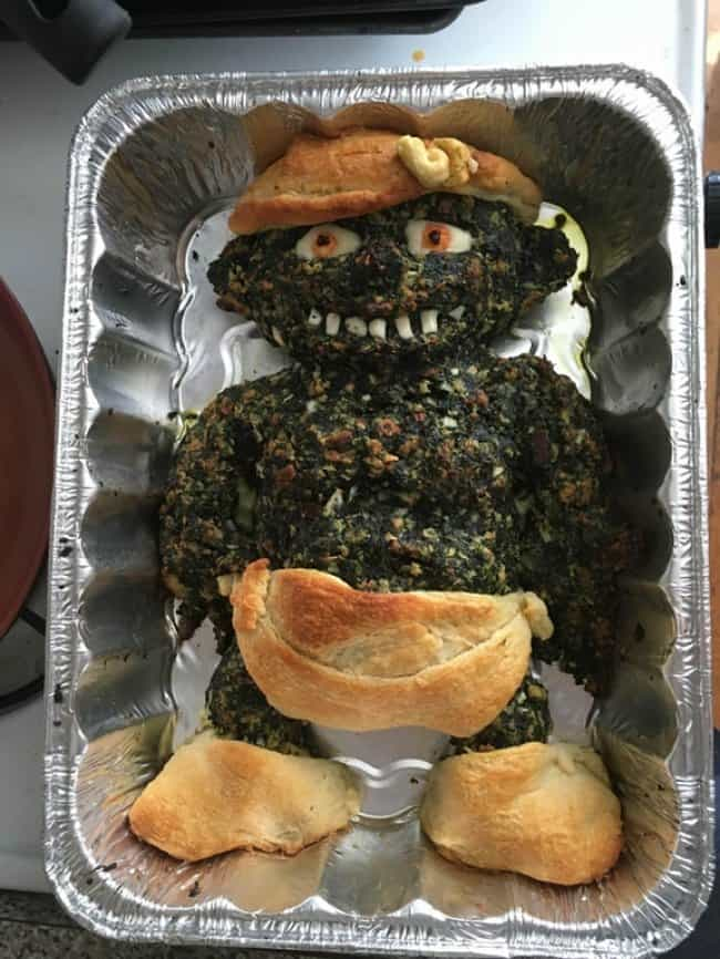 Kitchen Fails spinach baby