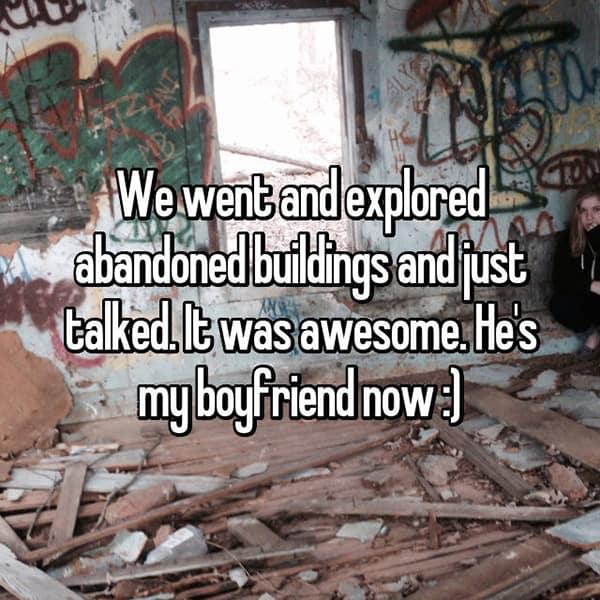 Memorable Romantic Dates abandoned buildings