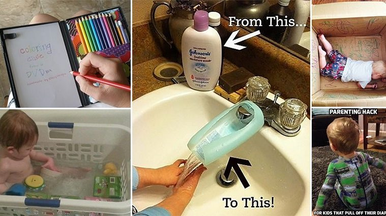 Parenting Hacks To Make Your Daily Life Easier