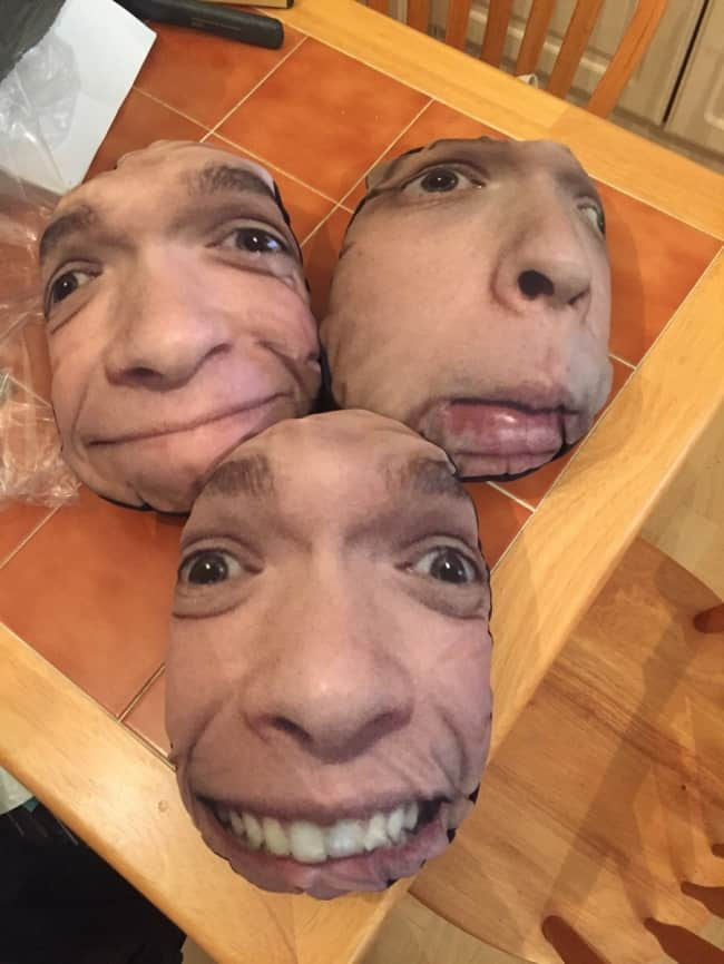 People Fantastic Sense Of Humor face cushions