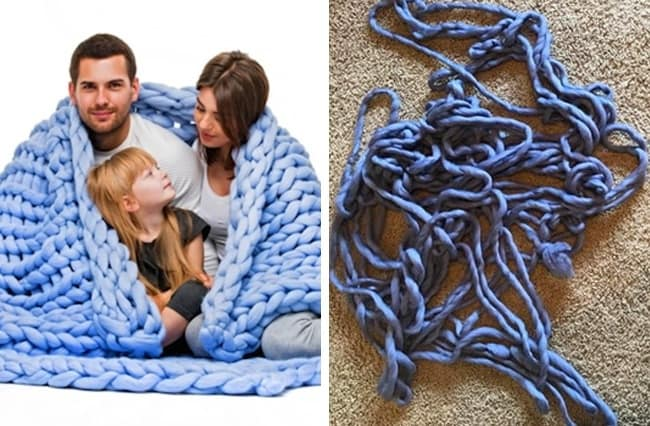 People Regretted Shopping Online blanket fail