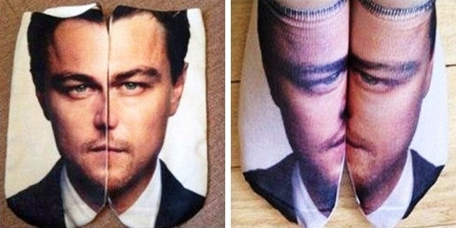 People Regretted Shopping Online leo socks