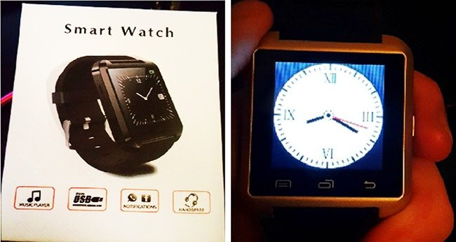 People Regretted Shopping Online smart watch