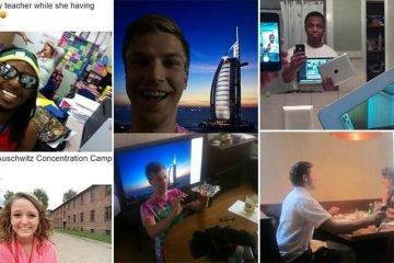 People Taking Crazy Selfies You Won't Believe