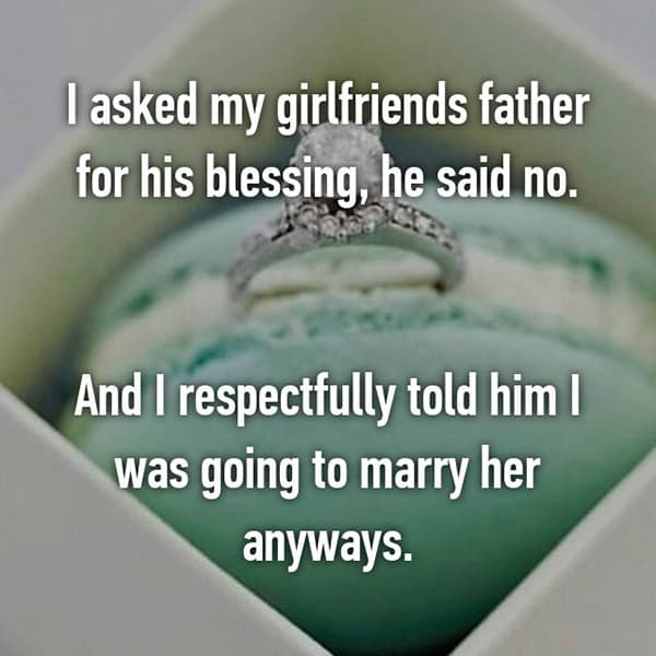 People Who Asked For Marriage Blessings respectfully told him