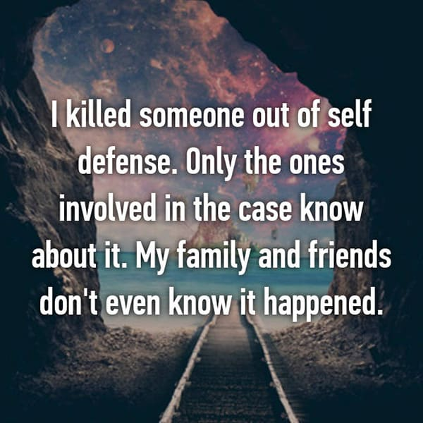 People Who Have Killed Someone family and friends