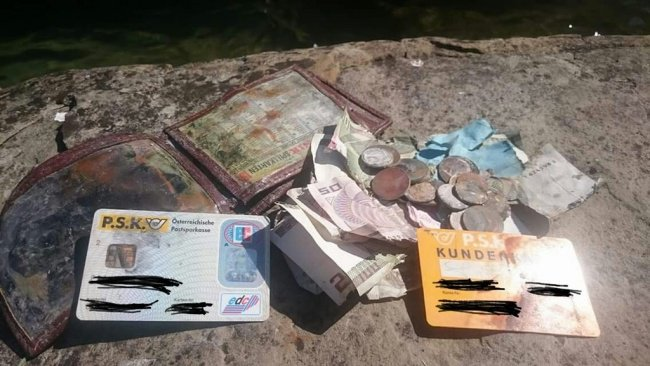 People Who Recovered Their Lost Treasures old wallet