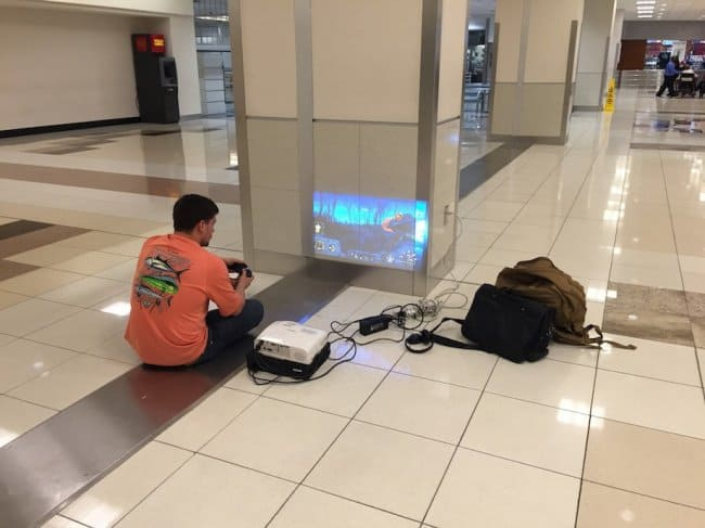 People Whose Creativity Knows No Bounds airport gaming