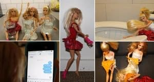 Pictures That Tell The Story Of A Night Out Using Barbie And Her Pals