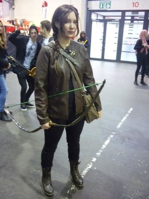 Realistic Transformations cosplay katniss everdeen