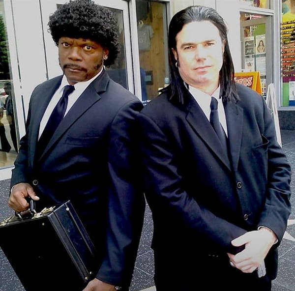 Realistic Transformations cosplay pulp fiction