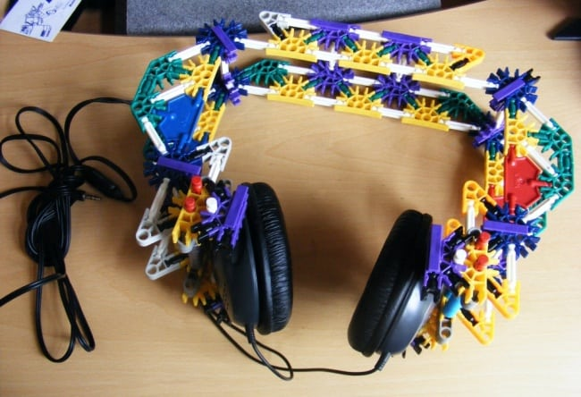 Really Stupid Or Pure Genius Ideas knex headphones