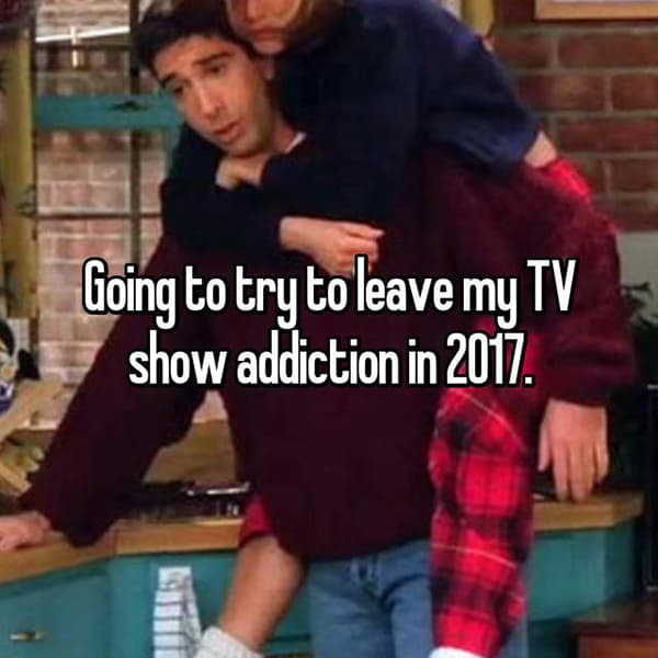 Resolutions For The Year 2018 tv show addiction