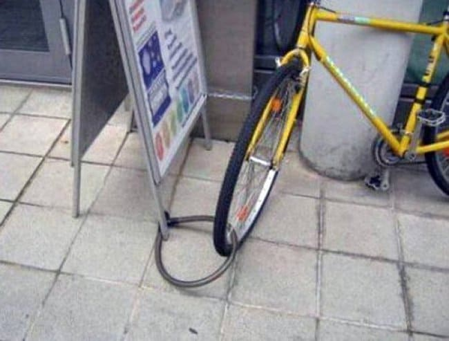 Security Fails bike lock