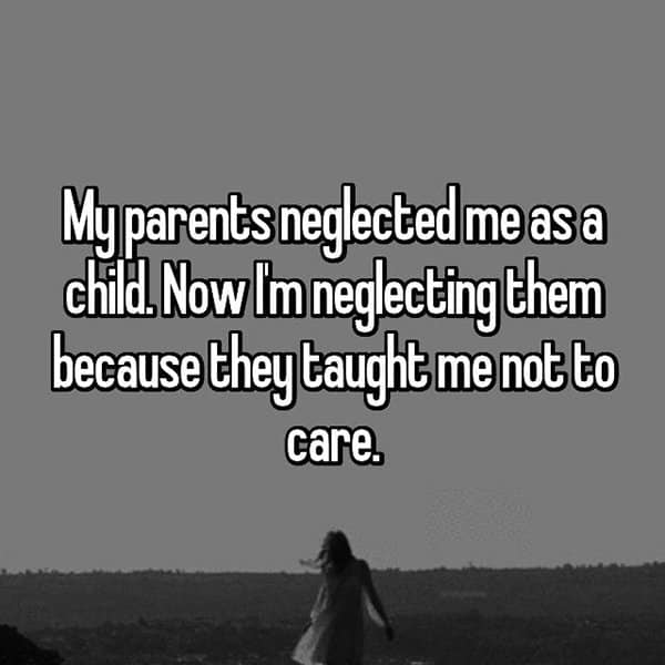 Stories Of Childhood Neglect taught me not to care