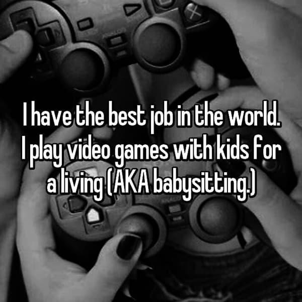 The Best Jobs babysitting