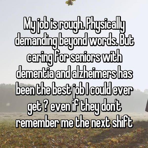 The Best Jobs carer senior citizens