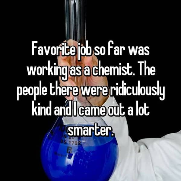 The Best Jobs chemist
