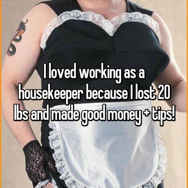 The Best Jobs housekeeper