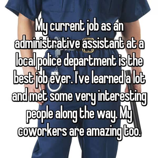 The Best Jobs police department