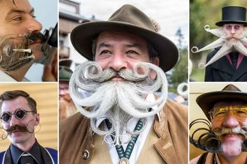 These Images Of The World's Most Extravagant Beards And Mustaches Were Taken At Annual Competition