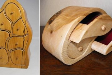 This Man Turns Wood Into Beautifully Fluid-Looking And Functional Pieces