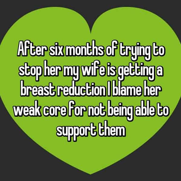 Thoughts On Breast Reduction Surgery weak core
