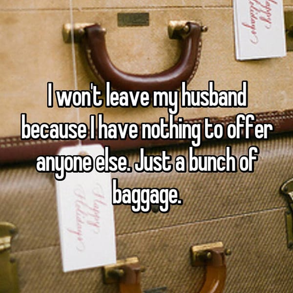 Women Stay With Their Husbands Unhappy baggae