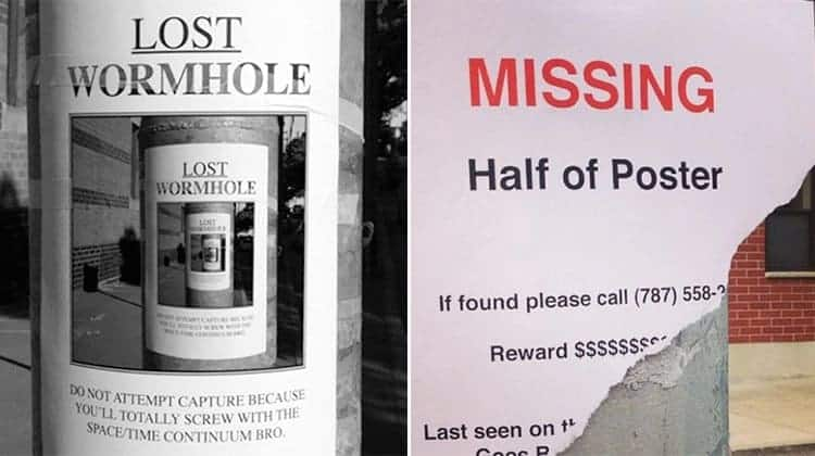 Clever And Funny Street Posters That Will Brighten Up Your Day